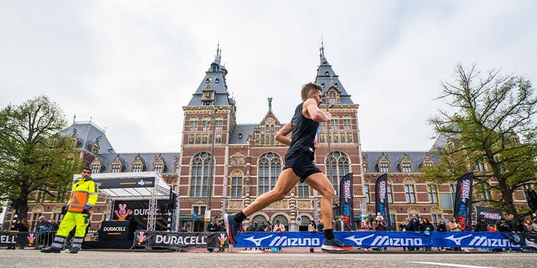 Amsterdam Half Marathon slide