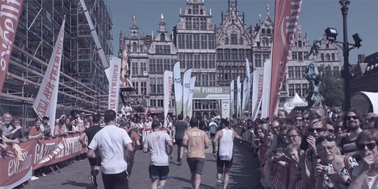 Port of Antwerp Night Half Marathon slide