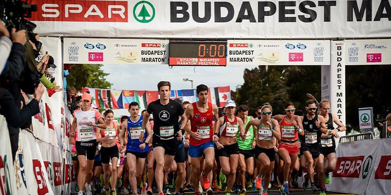 Budapest Marathon slide