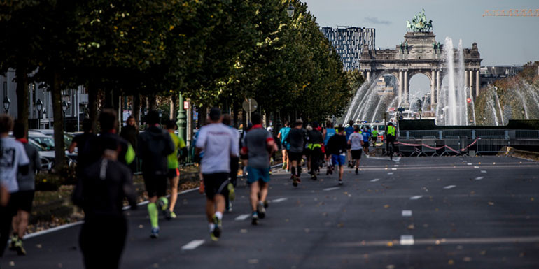 Brussels Marathon slide