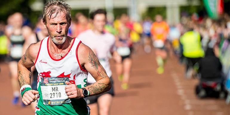 Cardiff Half Marathon slide