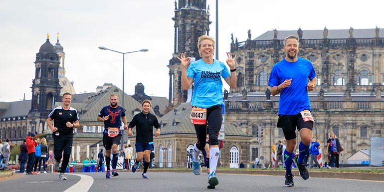 Dresden Half Marathon slide