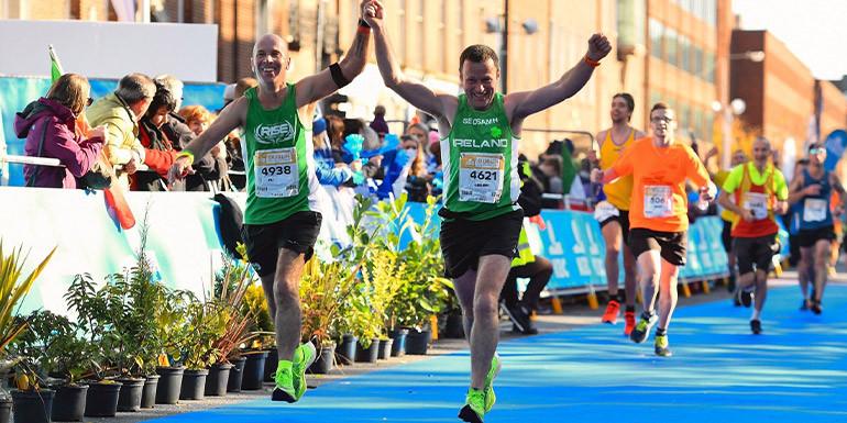 Dublin Marathon slide