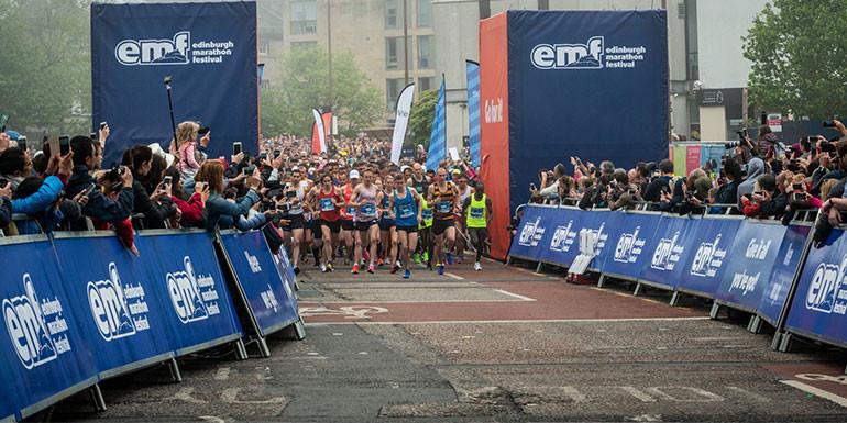 Edinburgh Marathon slide