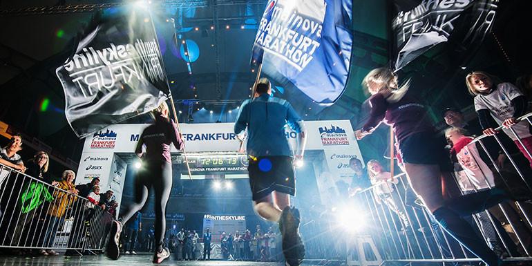 Frankfurt Marathon slide