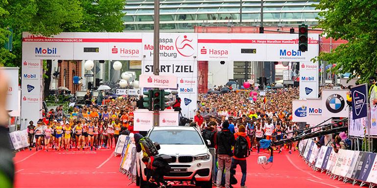 Haspa Hamburg Half Marathon slide
