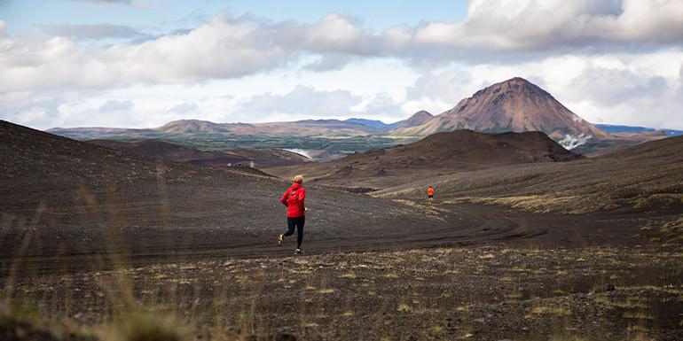 Iceland Volcano Marathon slide