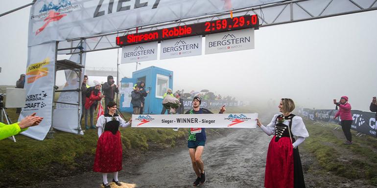 Jungfrau Marathon slide
