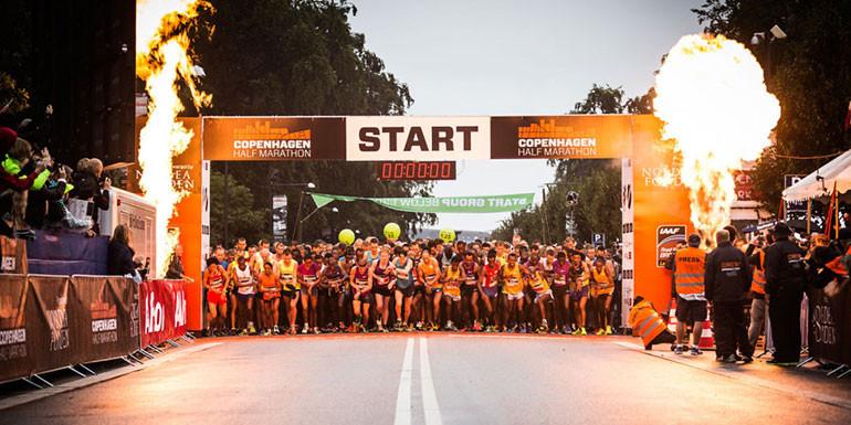 Copenhagen Half Marathon slide