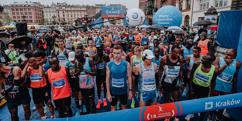 Krakow Marathon slide