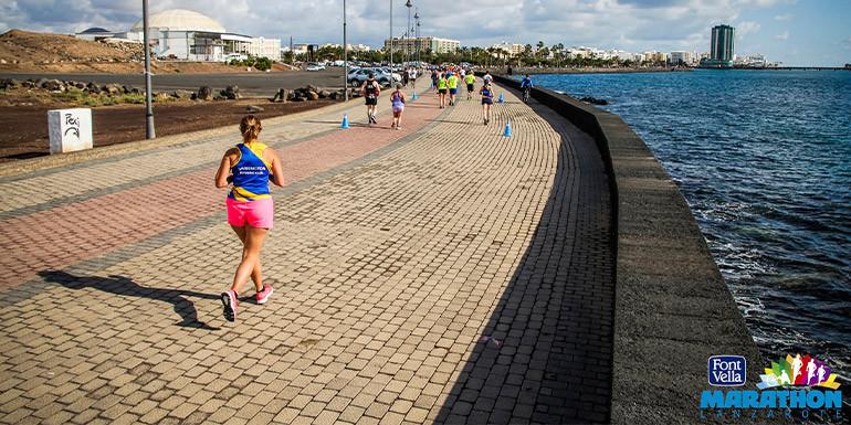 Lanzarote Marathon slide