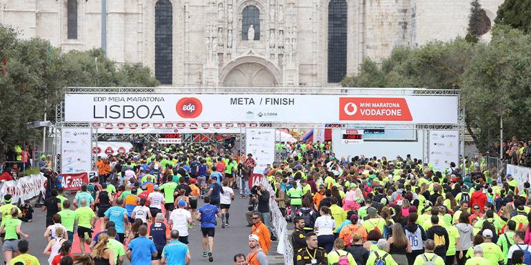 Lisbon Half Marathon slide
