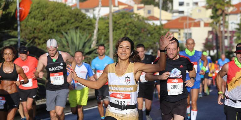 Lisbon Marathon slide