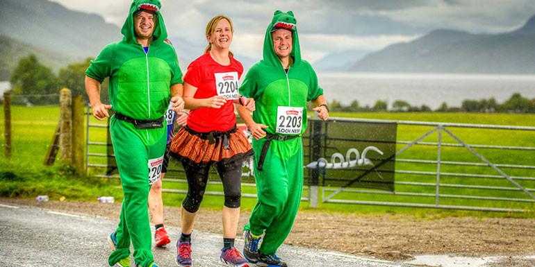 Loch Ness Marathon slide