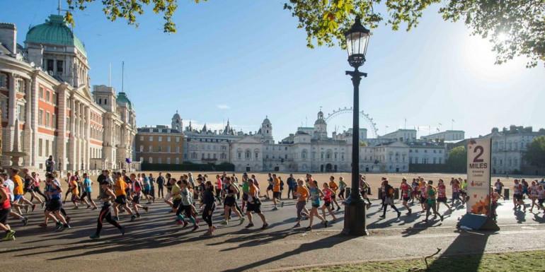 London Royal Parks Half Marathon slide