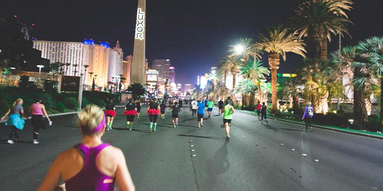 Las Vegas Half Marathon slide