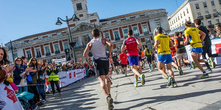 Madrid Half Marathon slide