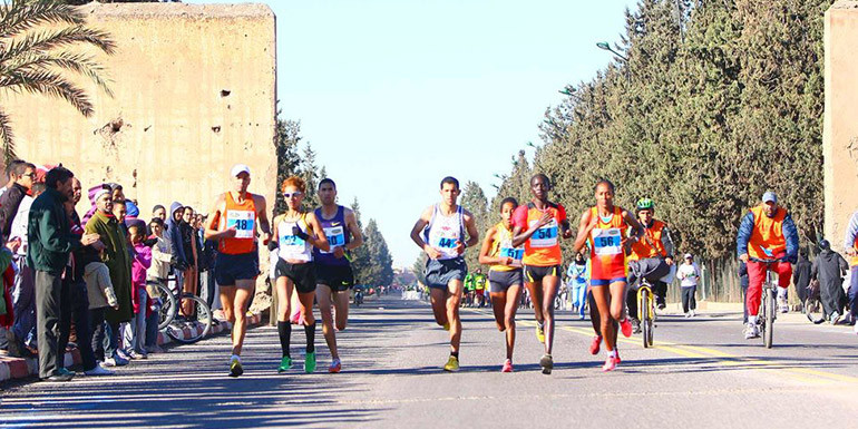 Palma Marathon slide
