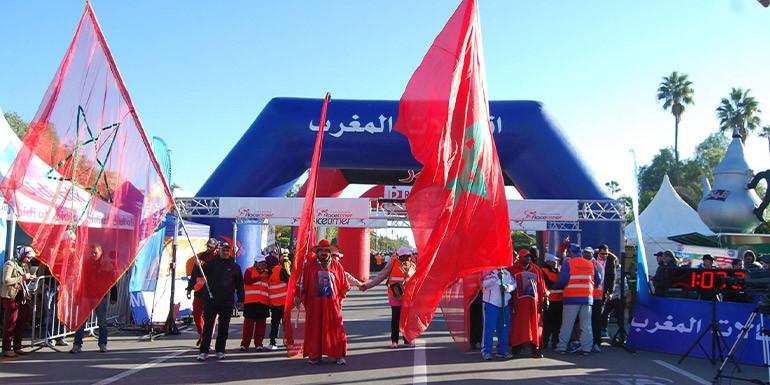 Marrakech Half Marathon slide