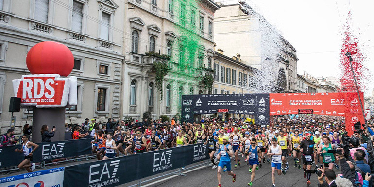 Milan Marathon slide