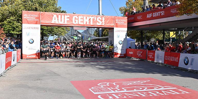 Munich Half Marathon slide