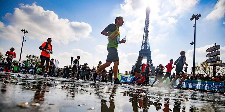 Paris Half Marathon slide