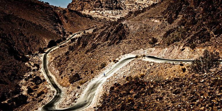 Petra Desert Marathon slide