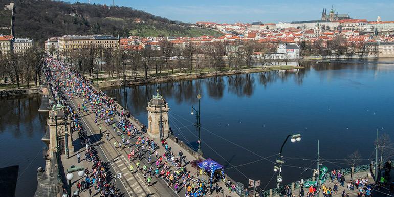 Prague Half Marathon slide