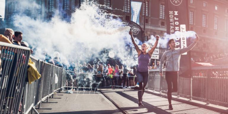 Stockholm Half Marathon slide
