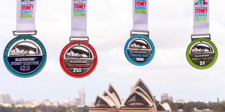 Sydney Half Marathon slide