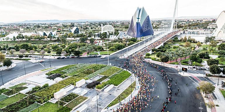 Valencia Half Marathon slide