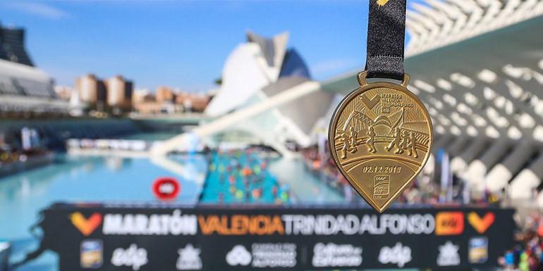 Valencia Marathon slide