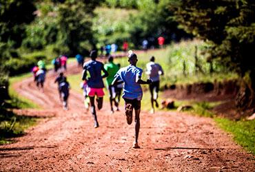 Running camp Kenya thumb